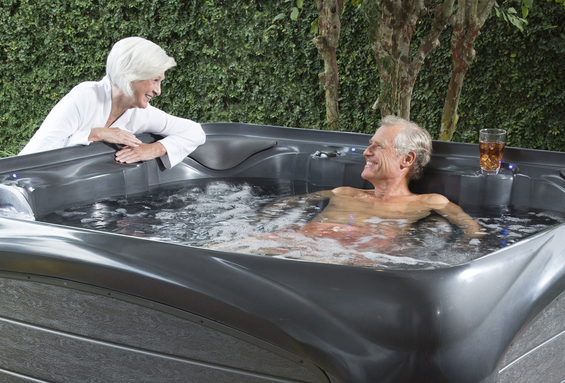How a hot tub can transform your aches & pains